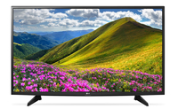 LG 49LJ515V 49Zoll Full HD Schwarz LED-Fernseher (Schwarz)