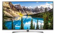 LG 75UJ675V 75Zoll 4K Ultra HD Smart-TV WLAN Schwarz, Silber LED-Fernseher (Schwarz, Silber)