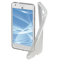 Hama Crystal Clear 5.5Zoll Handy-Abdeckung Transparent (Transparent)