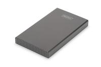 Digitus DA-71113 HDD / SSD-Gehäuse 2.5Zoll Schwarz Speichergehäuse (Schwarz)