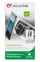 Cellular Line Handy Force Drive Schwarz Telefonhalterung & -ständer (Schwarz)