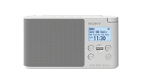 Sony XDR-S41D Tragbar Digital Weiß Radio (Weiß)