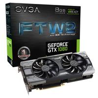 EVGA 08G-P4-6686-KR GeForce GTX 1080 8GB GDDR5X Grafikkarte (Schwarz)