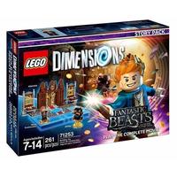 Warner Bros LEGO Dimensions: Fantastic Beasts Story Pack 2Stück(e) Mehrfarben Baufigur (Mehrfarben)