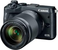 Canon EOS M6 + EF-M 18-150mm 1:3.5-6.3 IS STM 24.2MP CMOS 6000 x 4000Pixel Schwarz (Schwarz)