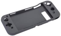 Bigben Interactive 3499550354881 Abdeckung Nintendo Silikon Schutzhülle für tragbare Spielkonsolen (Schwarz)