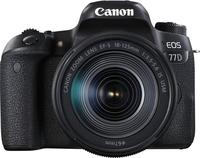 Canon EOS 77D + EF-S 18-135mm 3.5-5.6 IS USM 24.2MP CMOS 6000 x 4000Pixel Schwarz (Schwarz)