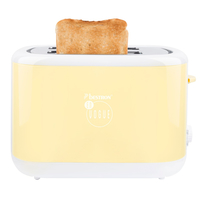 Bestron ATS300EVV 2slice(s) 780W Gelb Toaster (Gelb)