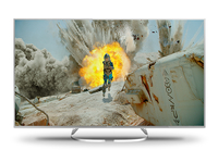 Panasonic TX-65EXW734 65Zoll 4K Ultra HD Smart-TV WLAN Silber LED-Fernseher (Silber)