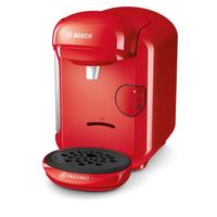 Bosch TAS1403 Freistehend Kombi-Kaffeemaschine 0.7l Rot Kaffeemaschine (Rot)