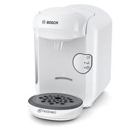 Bosch TAS1404 Freistehend Vollautomatisch Kombi-Kaffeemaschine 0.7l Weiß Kaffeemaschine (Weiß)