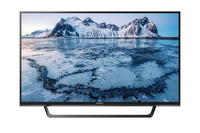 Sony KDL49WE665 49Zoll Full HD Smart-TV WLAN Schwarz LED-Fernseher (Schwarz)