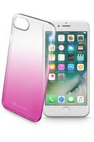 Cellular Line Shadow 4.7Zoll Handy-Abdeckung Pink,Transparent (Pink, Transparent)