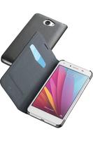 Cellular Line Book Essential Mobile phone wallet Schwarz (Schwarz)
