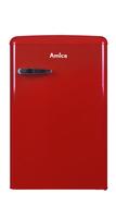 Amica KS 15610 R Freistehend 106l A++ Rot Kühlschrank mit Gefrierfach (Rot)