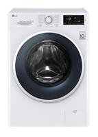 LG F14WM7EN0 Freistehend Frontlader 7kg 1400RPM A+++ Weiß Waschmaschine (Weiß)