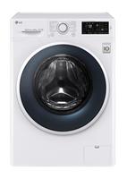 LG F14WM8EN0 Freistehend Frontlader 8kg 1400RPM A+++ Weiß Waschmaschine (Weiß)