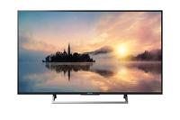 Sony KD49XE7005 49Zoll 4K Ultra HD Smart-TV WLAN Schwarz, Silber LED-Fernseher (Schwarz, Silber)