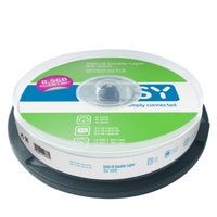 ISY IDV 3000 8.5GB DVD+R 10Stück(e) DVD-Rohling