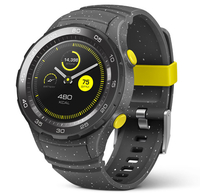Huawei Watch 2 1.2Zoll AMOLED 40g Schwarz Smartwatch (Grau, Schwarz)