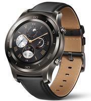 Huawei Watch 2 Classic 1.2Zoll AMOLED 47g Grau Smartwatch (Schwarz, Braun, Grau)