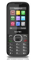 Beafon C130 2.4Zoll 80g Schwarz Einsteigertelefon (Schwarz)