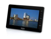 Xoro PTL 1010 10.1Zoll LCD 1024 x 600Pixel Schwarz Tragbarer Fernseher (Schwarz)