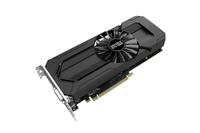 Palit NE51060015J9-1061F GeForce GTX 1060 6GB GDDR5 Grafikkarte (Schwarz)