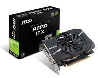 MSI GeForce GTX 1070 Aero ITX 8G OC GeForce GTX 1070 8GB GDDR5 (Schwarz)
