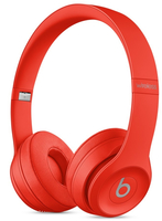 Beats by Dr. Dre Beats Solo3 Wireless Kopfband Binaural Wired / Bluetooth Rot Mobiles Headset (Rot)