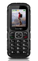 Beafon AL450_EU001BS 1.77Zoll 75g Schwarz, Silber Handy (Schwarz, Silber)