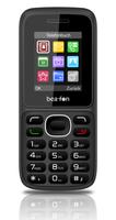 Beafon C60 1.77Zoll 61g Schwarz Funktionstelefon (Schwarz)