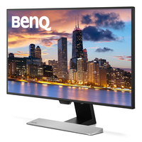 Benq EW2770QZ 27Zoll 2K Ultra HD IPS Schwarz, Silber Computerbildschirm (Schwarz, Silber)