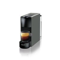 Krups XN110B Freistehend Manuell Espressomaschine 0.6l 1Tassen Grau Kaffeemaschine (Grau)