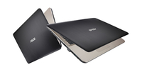 ASUS VivoBook Max X541NA-GQ028 1.10GHz N3350 15.6Zoll 1366 x 768Pixel Schwarz, Schokolade Notebook (Schwarz, Schokolade)