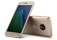 Motorola Moto G G5 Plus Single SIM 4G 32GB Gold Smartphone (Gold)