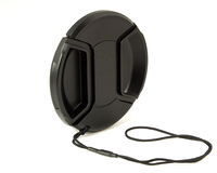 Kaiser Fototechnik Snap-On Lens Cap 77 mm (Schwarz)