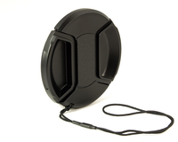 Kaiser Fototechnik Snap-On Lens Cap 49 mm (Schwarz)