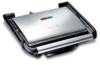 Tefal Inicio GC241D Kontaktgrill Tisch Elektro 2000W Schwarz, Silber Barbecue & Grill (Schwarz, Silber)