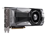 MSI GeForce GTX 1080 Ti Founders Edition 11GB GDDR5X Grafikkarte (Schwarz, Grau)