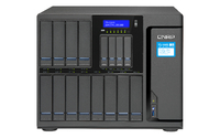 QNAP TS-1685 NAS Desktop Eingebauter Ethernet-Anschluss Schwarz (Schwarz)