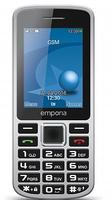 Emporia Mobiltelefone Schwarz, Grau (Schwarz, Grau)