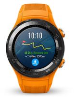 Huawei Watch 2 1.2Zoll AMOLED 40g Schwarz Smartwatch (Orange, Schwarz)