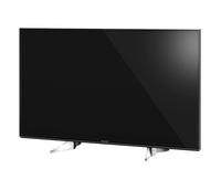 Panasonic TX-49EXW604 49Zoll 4K Ultra HD Smart-TV WLAN Schwarz, Silber LED-Fernseher (Schwarz, Silber)