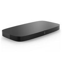 Sonos PLAYBASE Eingebauter Ethernet-Anschluss WLAN Schwarz Digitaler Audio-Streamer (Schwarz)