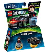 Warner Bros LEGO Dimensions Fun Pack: Knight Rider 4Stück(e) Mehrfarben Baufigur (Mehrfarben)