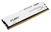 HyperX FURY Memory White 8GB DDR4 2400MHz 8GB DDR4 2400MHz Speichermodul (Weiß)