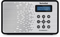 TechniSat TECHNIRADIO 2 Tragbar Analog & digital Schwarz, Silber Radio (Schwarz, Silber)