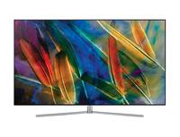 Samsung 75Q7F 75Zoll 4K Ultra HD Smart-TV WLAN Silber, Edelstahl LED-Fernseher (Silber, Edelstahl)