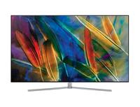Samsung QE55Q7F 55Zoll 4K Ultra HD Smart-TV WLAN Silber, Edelstahl LED-Fernseher (Silber, Edelstahl)